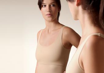 Bikini para mujeres de pecho plano